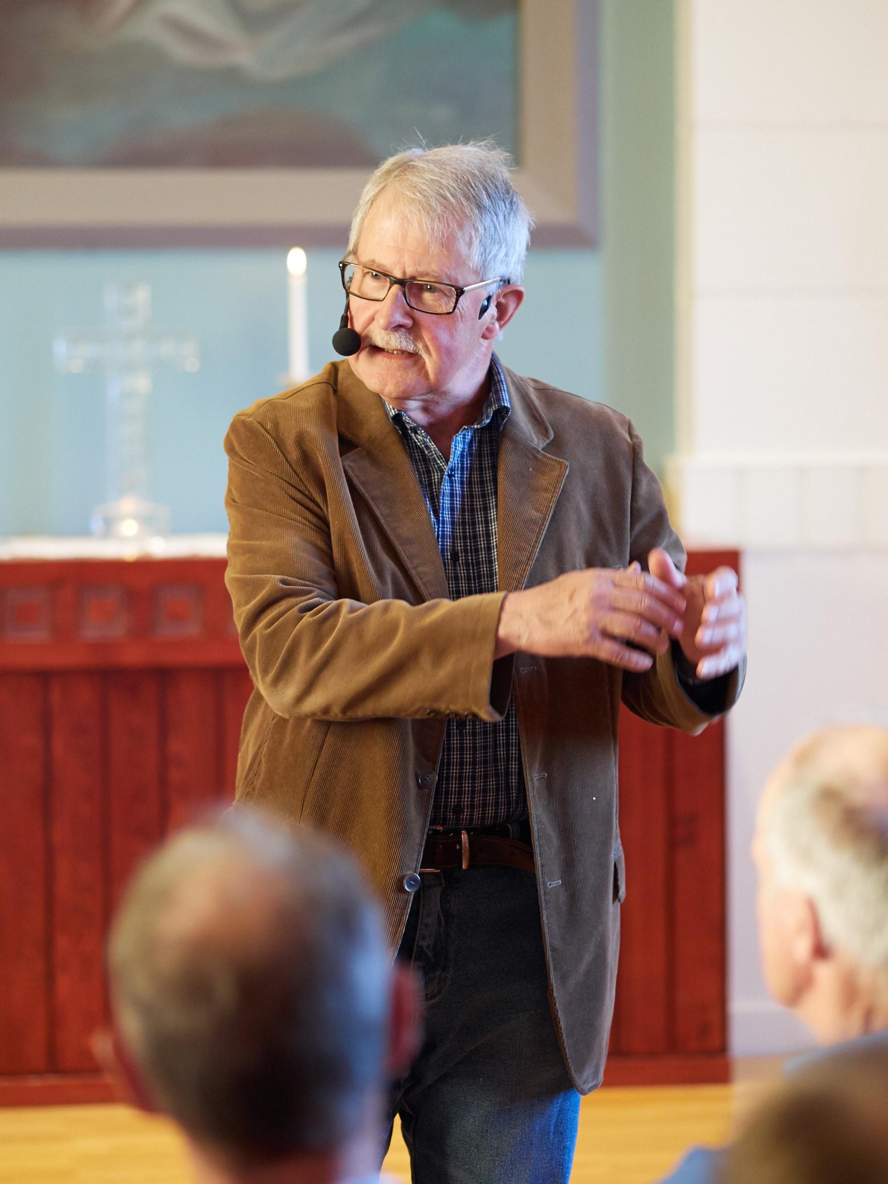 Cafékväll med Sverker Olofsson